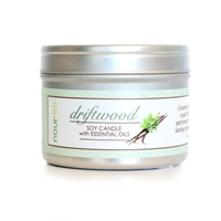 Driftwood Travel Tin Soy Candle