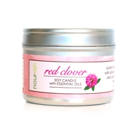 Red Clover Tea Travel Tin Soy Candle