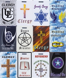 Clergy Badges - Clearance
