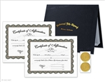 Affirmation Certificates Presentation Kit
