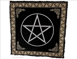 Altar Cloth with Silver Pentacle