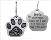 Paw Shaped Blessing Amulet for Your Pet