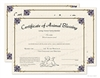 Animal Blessing Certificate