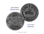 Motorcycle Ministry Faith Token