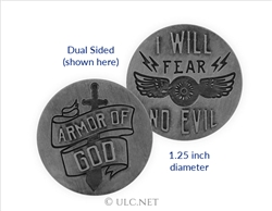 Motorcycle Ministry Psalm Armor Token