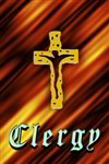 Christian Clergy Badge