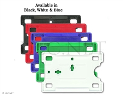 Clip-on holders for ID or wallet card