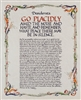 Desiderata Full Version Calligraphy Print