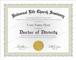 Universal Life Church Doctor of Divinity