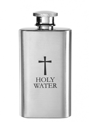 Holy Water Bottle (Stainless Steel)
