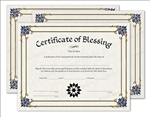 House Blessing Certificates 3-Pack