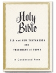 HQ Condensed Holy Bible