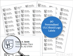 90 Personalized Labels for ULC Ministers