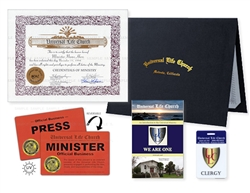 Mini Clergy Package