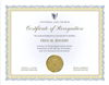 Personalized Clergy Appreciation Month Certificate