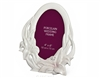 Porcelain Wedding Photo Frame (Oval)