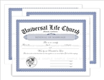 Renewal of Marriage Certificates 3-Pack