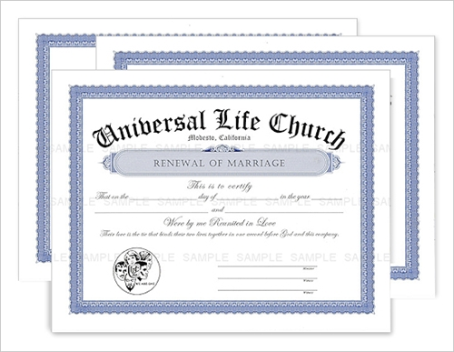 renewal of marriage certificate 3 for ulc renewal of marriage