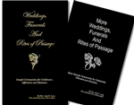Combo Set of the Wedding, Funerals and Rites Books
