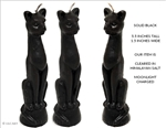 Ritual Figure Candle (Black Cat)