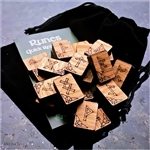 Traditional Oak Rune Set