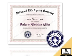 Doctor of Christian Ethics