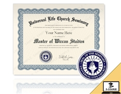 Master of Wiccan Studies
