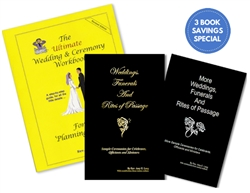 Ultimate Wedding, Rites & More Rites - Three Book Combo