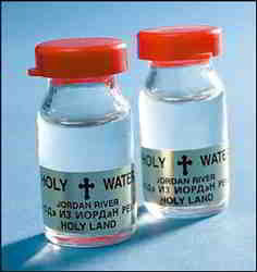 Vial of Holy Water from the Jordan River | Holy Water from the Jordan River