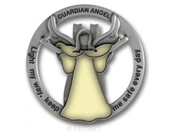 Guardian Angel Car Visor Clip