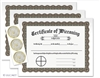 Wiccaning Certificates 3-Pack Set