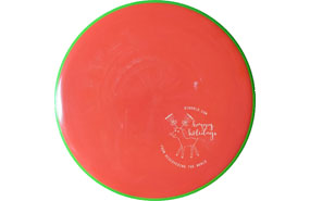 Axiom Discs Neutron Envy - DTW Holiday Mini Stamp