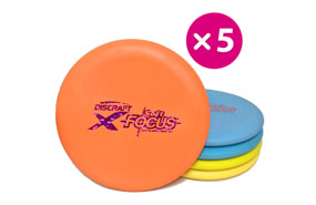Discraft Elite X Soft Focus - 5 Putter Pack