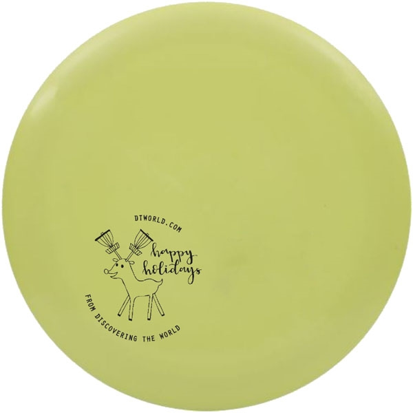 Dynamic Discs BioFuzion Freedom - DTW Holiday Mini Stamp