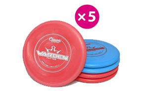 Dynamic Discs Classic Blend Warden - 5 Putter Pack