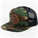Dynamic Discs Foundation Leather Patch Hat (CAMO)