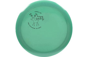 Dynamic Discs Lucid Metallic Trespass - DTW Holiday Mini Stamp
