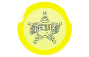 Dynamic Discs Lucid-X Sheriff Badge Stamp