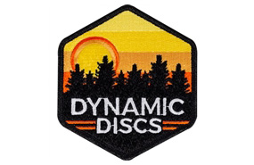 Dynamic Discs Sunset Hex Patch