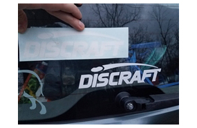 Discraft Window Vinyl Sticker