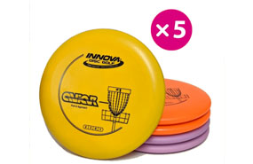 Innova DX Aviar - 5 Putter Pack