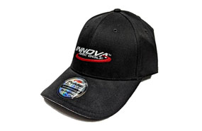 Innova Logo Stretch Fit Pukka Hat (BLACK)
