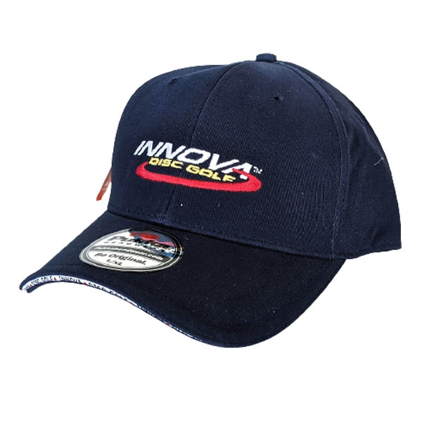 Innova Logo Stretch Fit Pukka Hat (NAVY)