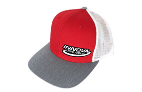 Innova Mesh Hat (RED / WHITE / GRAY)