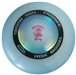 Discshop Mini-Stamped HDX Frisbee Black/CDBlue/Fuschia