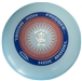 Discshop Mini-Stamped HDX Frisbee Blue/Red/White