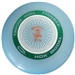 Discshop Mini-Stamped HDX Frisbee Green/White/Orange