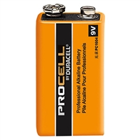 9V Alkaline | 9V Alkaline Battery | Duracell | Procell | Pro Battery Specialists