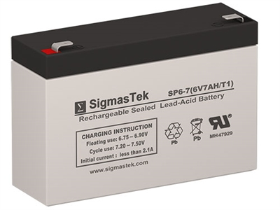 6V/7AH |Sealed Lead Acid Battery | Pro Battery Specialists