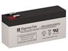 8V/3.2AH | Sealed  Lead Acid Battery | Pro Battery Specialists